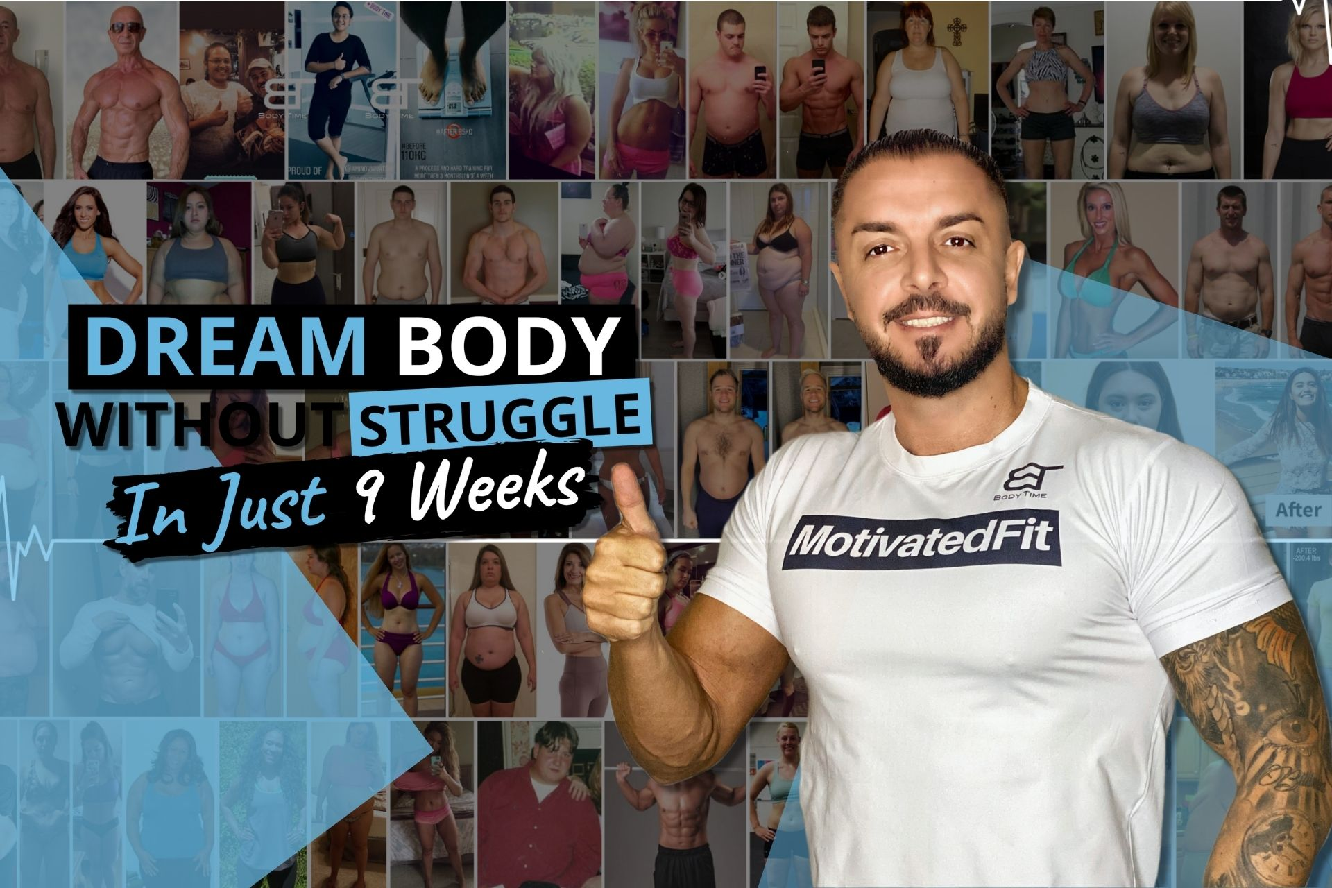 Get Fit with The MotivatedFit Program